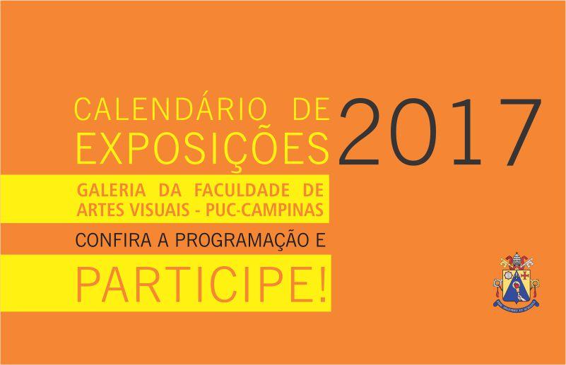 PUC Arte - Calendário de exposições