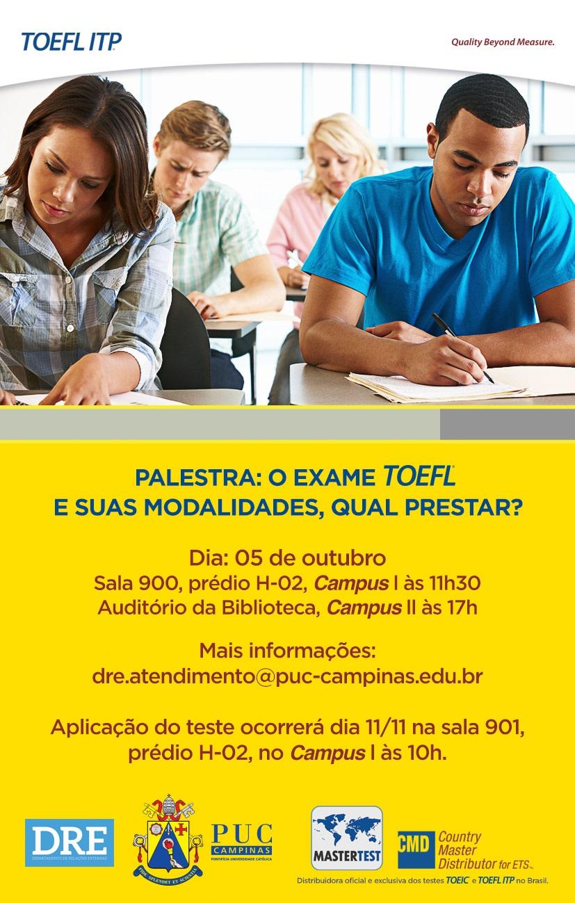 2° palestra TOEFL