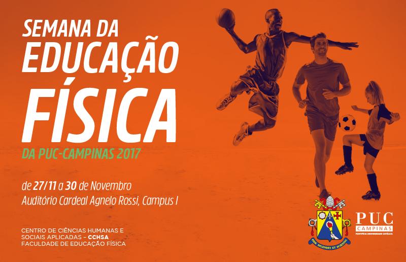 Semana da Educação Física da PUC-Campinas acontece até o dia 30 de novembro 69c0e4d3b104f