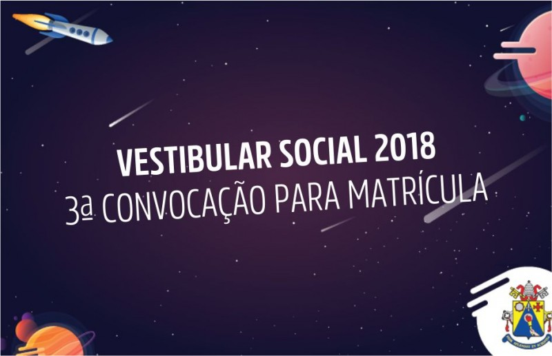 ebanner vestibular social 3 convocacao