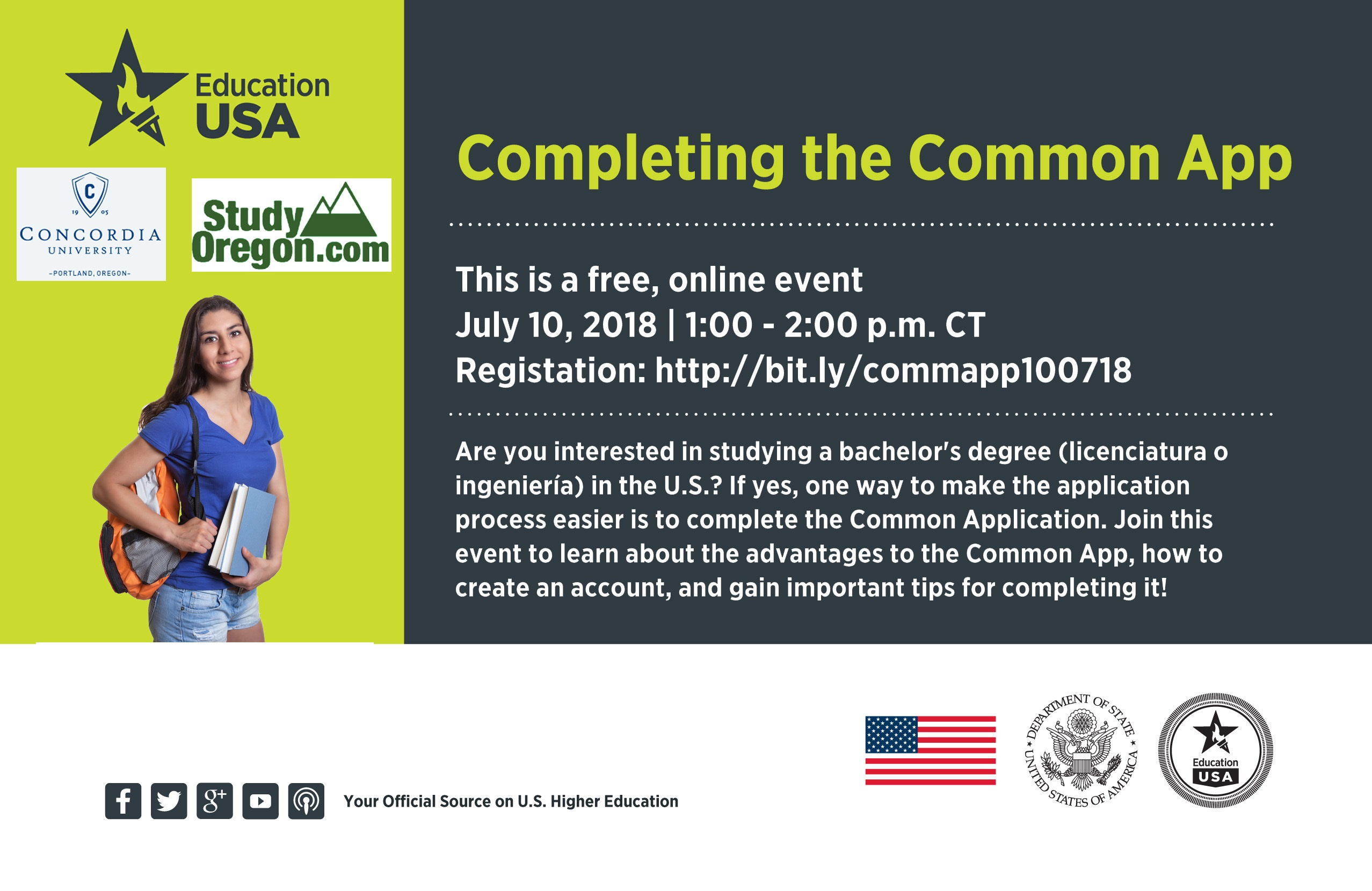 Webinar Competing the common app