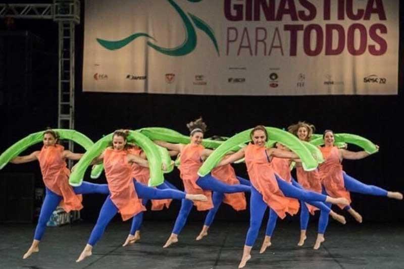Grupo de Dança da Profa. Giovanna Saroa.