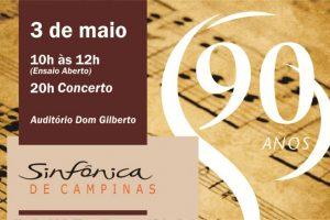 Orquestra Sinfônica na PUC-Campinas @ Auditório Dom Gilberto