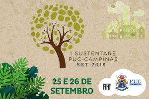 I Sustentare - Seminário de Sustentabilidade da PUC-Campinas @ Campus I - PUC-Campinas