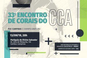 33º Encontro de Corais do Centro de Cultura e Arte (CCA) @ Paróquia Divino Salvador