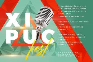 XI PUCFEST - Festival de Bandas da PUC-Campinas @ Praça de Alimentação - Campus I