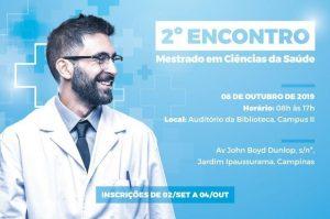 2º Encontro de Mestrado em Ciências da Saúde @ Auditório da Biblioteca