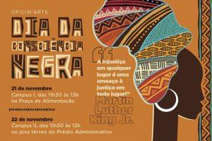 Oficin'Arte Dia da Consciência Negra @ Campi I e II