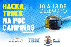 Hackatruck na PUC-Campinas @ Campus I