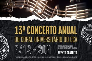 13º Concerto Anual do Coral Universitário do CCA @ Paróquia do Divino Salvador